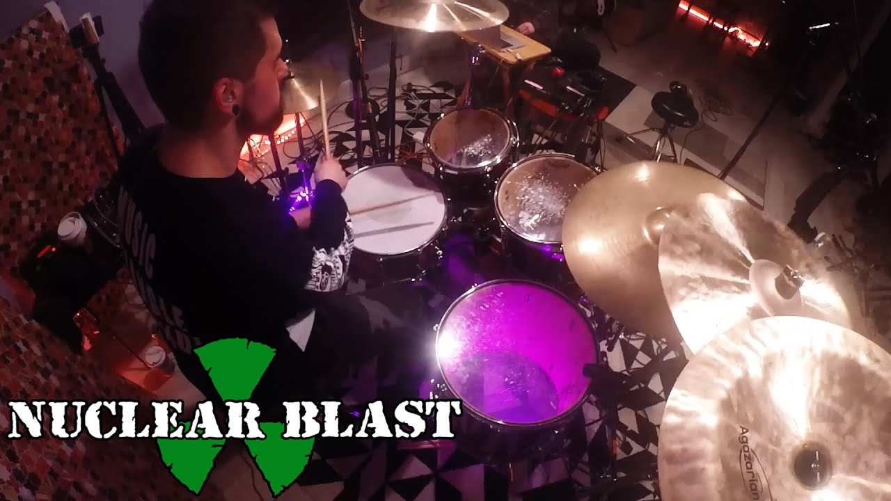 AENIMUS — Between Iron And Silver (OFFICIAL DRUM PLAYTHROUGH)