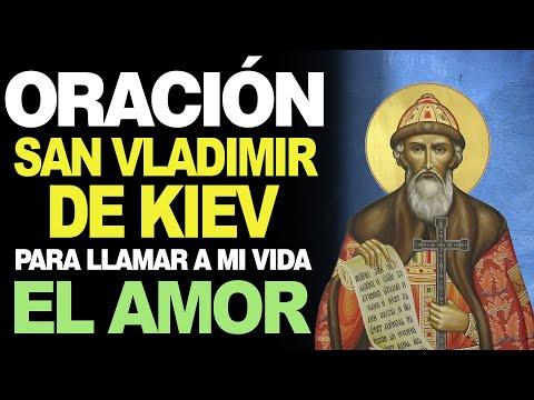 🙏 Oración a San Vladimir de Kiev para LLEVAR EL AMOR A MI VIDA 💖