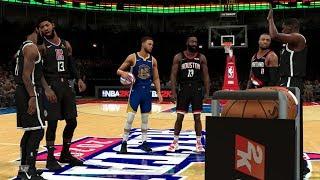 NBA 2K20 - EPIC 3 POINT CONTEST! -  KD, Curry, Kyrie Harden, Lillard, Paul George!