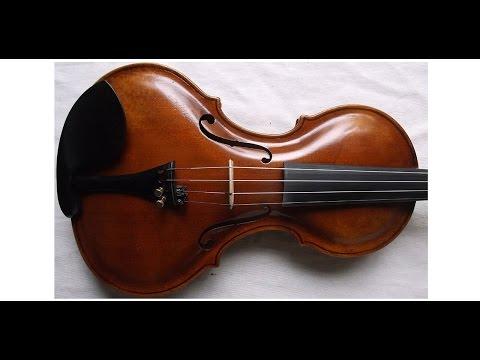♪♫# Very interesting rare shaped old violin バイオリン скрипка 小提琴 890