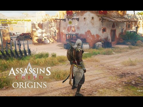 Assassin's Creed Origins - NEW GAMEPLAY! Discovering New Villages! Free Roam Walkthrough