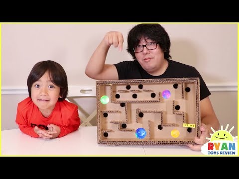 DIY Homemade Maze Board Game and more Fun Science Experiments