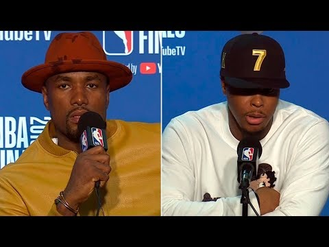 kyle-lowry-&-serge-ibaka-postgame-interview---game-4-|-raptors-vs-warriors-|-2019-nba-finals