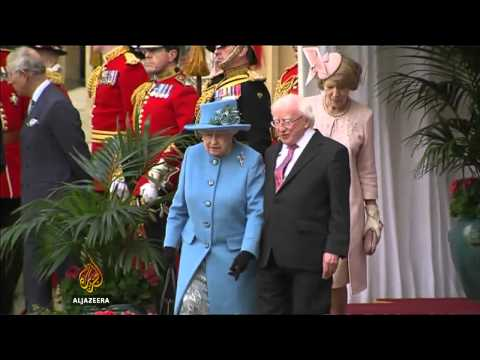 Irish president makes landmark UK visit