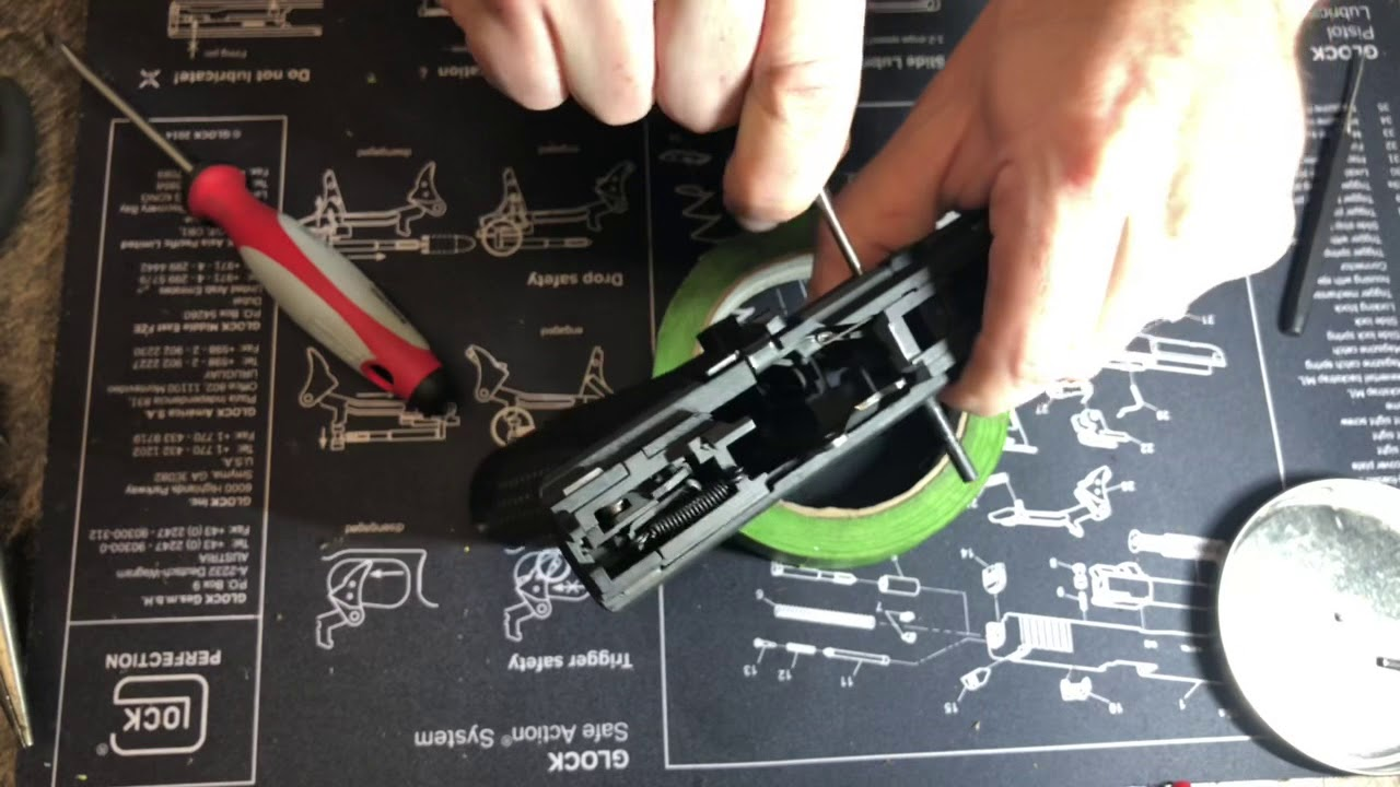 Canik TP9SFX/SF Elite Disassembly Part 1