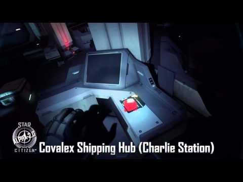 Star Citizen Alpha 2.0 Covalex Shipping Hub