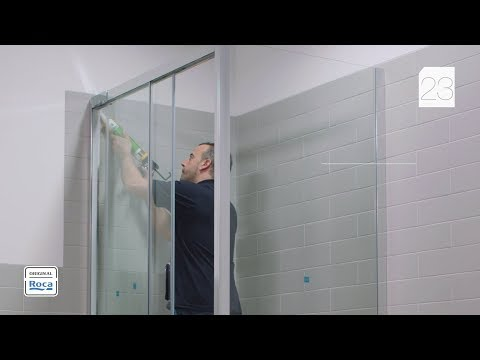 Duchas Roca.Naray L2 E Lf Shower Enclosure Installation Roca Youtube