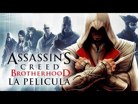 Assassin's Creed Brotherhood (La Hermandad) | Película completa en Español  + DLC's