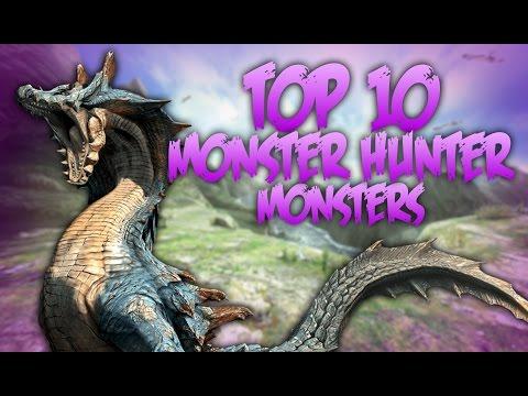 Top 10 Monster Hunter Monsters