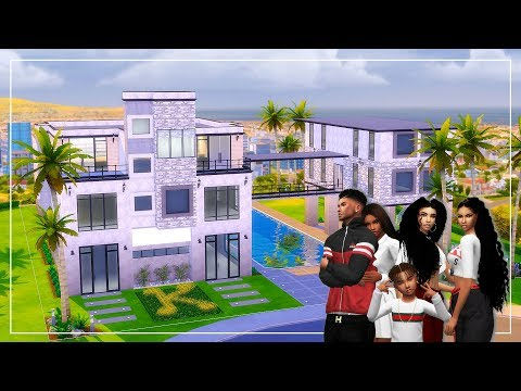 Kendra's New Mansion👑The Sims 4 👑Single Mother 👑 #1 thumbnail