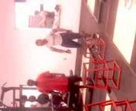 Tony norman work out