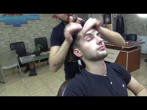 Turkish Barber Massage Neck & Back Reflexology | BY ASMR Barber Birol Erdin