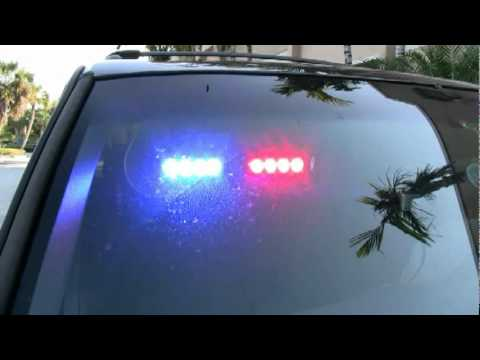 Eagle Eye Fold Down LED Visor Light - YouTube a1e5a97d3a8