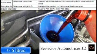 Cambio Aceite y Filtro de Transmisión Automática (Suzuki Grand Vitara SZ)