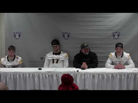 12.3.16 NCAA Division III Football Playoffs Quarterfinals Press Conference - UW-Oshkosh