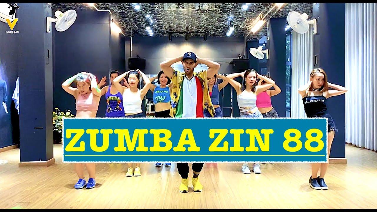 Zumba Zin 88 | TKN | ROSALÍA & Travis Scott | Easy Zumba Dance Workout | Vishal Choreography