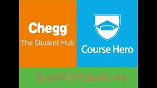 Chegg Solutions & Course Hero