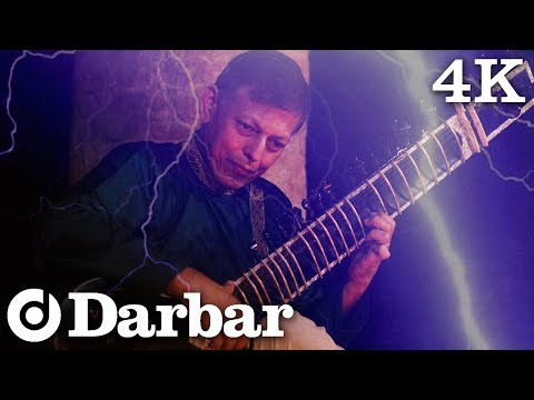 Epic Sitar In A Thunderstorm | Pandit Budhaditya Mukherjee | Mian Ki Malhar | Music of India