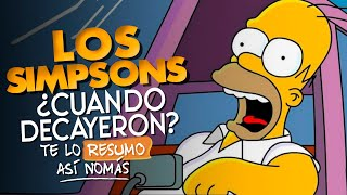 La Decadencia de Los Simpsons | #TeLoResumo