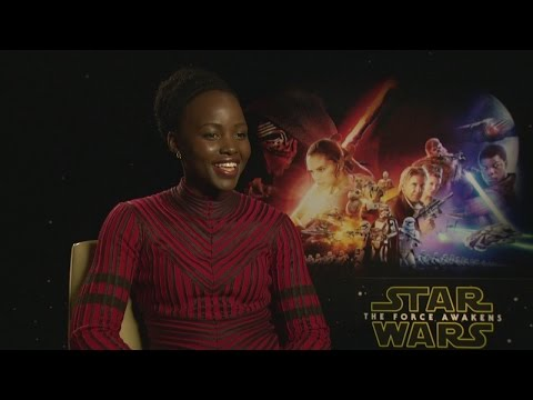 Lupita Nyong'o on the next Star Wars movie and playing with lightsabers on set