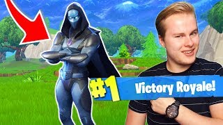 THE NEW * OMEN * SKIN BRINGS HAPPINESS, BIZARRE ENDING!! -Fortnite Battle Royale (English)