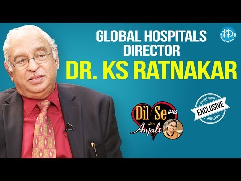 Global Hospitals Director Dr. KS Ratnakar Exclusive Interview || Dil Se With Anjali #43