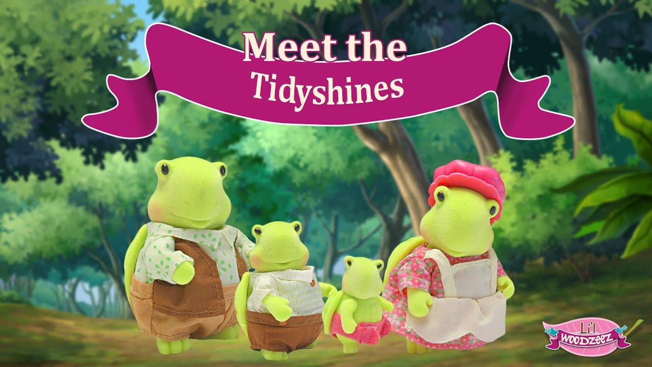 Li/'l Woodzeez Tidyshines Turtle Family Set