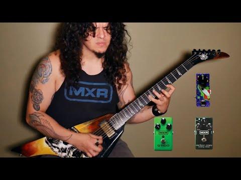My guitar effects & pedalboard / Mis pedales y efectos de guitarra - Charlie Parra