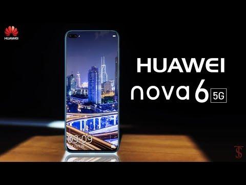 Huawei Nova 6 First Look, Design, 5G, Dual Selfie Camera, Release Date
