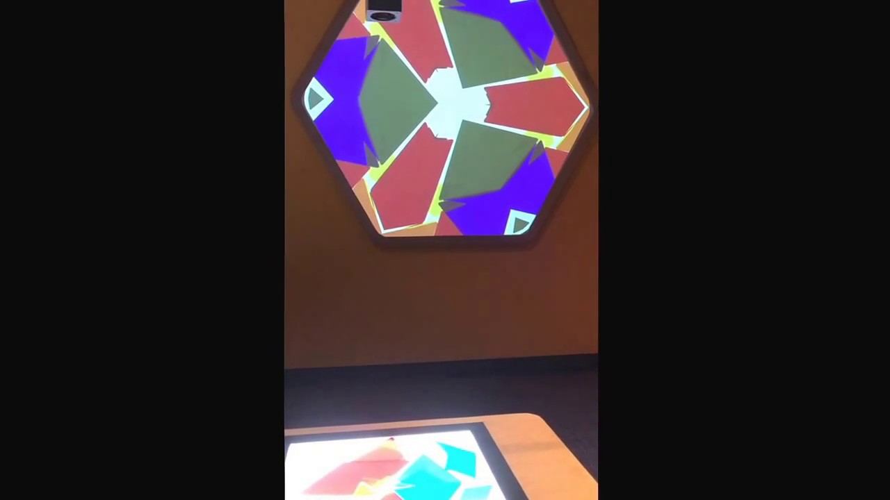 Light Table   Overhead Projector   Kaleidoscope At Orlando Science Center  New Kids Town