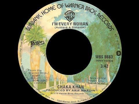 Chaka Khan ~ Im Every Woman 1979 Disco Purrfection Version