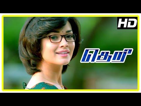 Theri movie | Amy Jackson Scenes | Vijay | Baby Nainika | Rajendran