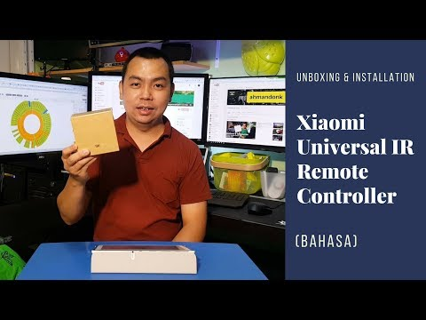 Unboxing & Installation Xiaomi Universal IR Remote Controller