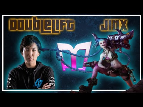 (One of the Best Games) Doublelift - Jinx/Thresh vs Ezreal/Alistar (Challenger) (N)