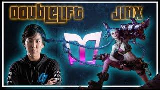(One of the Best Games) Doublelift - Jinx/Thresh vs Ezreal/Alistar (Challenger) (N)