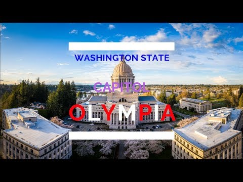 Olympia Washington's State Capitol / Supreme Court / Temple Of Justice