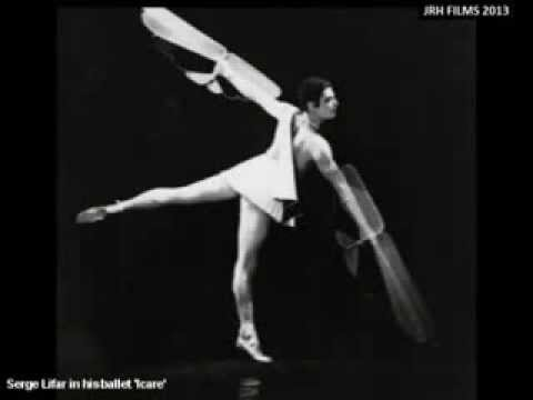 Serge Lifar and his ballet 'Icare' (1935)