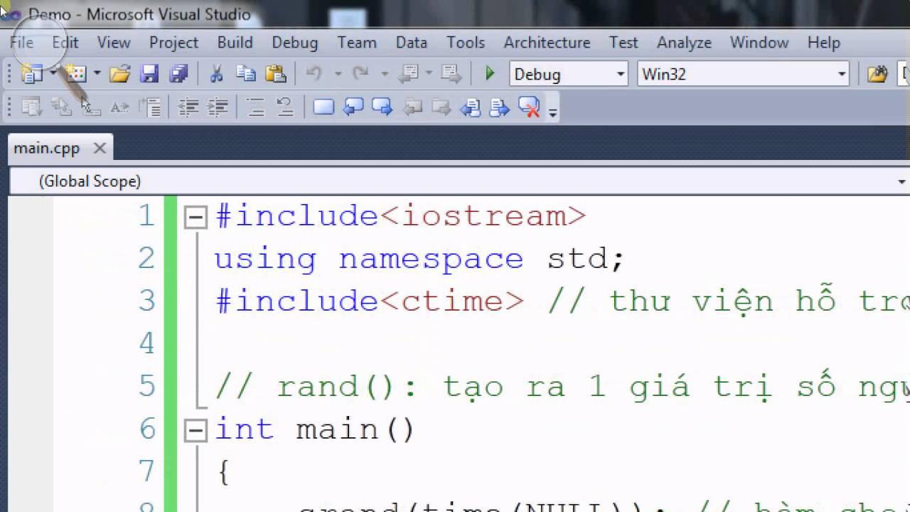 [Lập trình C/C++] Tạo ra 1 giá trị nguyên ngẫu nhiên bằng hàm rand()