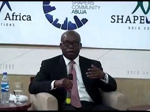 Global Shapers Interviews Oando Group Chief Executive at WEF Africa 2014