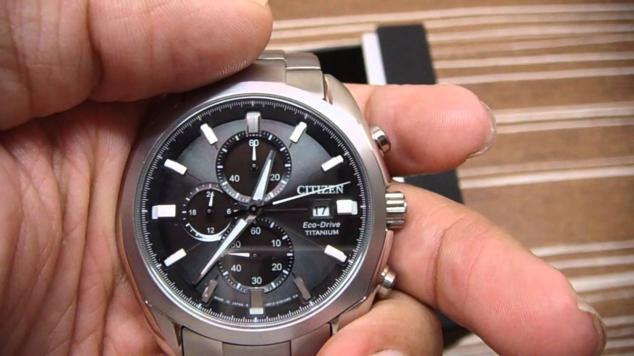 citizen super titanium watch