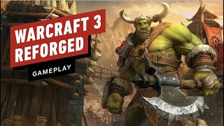 The First 17 Minutes of Warcraft 3 Reforged - Exodus of the Horde Gameplay