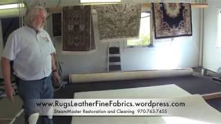Making a shag rug like new