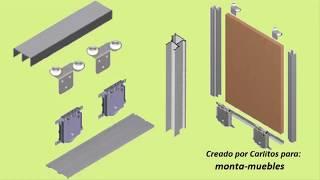 Gambar cover Poner puertas correderas para armarios