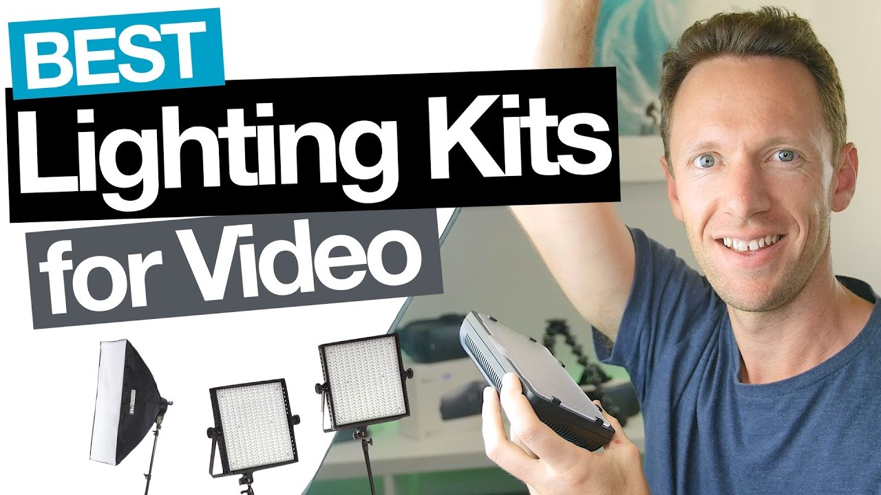 Best video lighting for youtube on all budgets