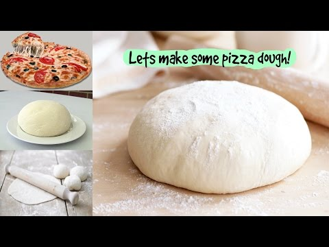 Pizza Dough Recipe  Without Yeast And Milk Pizza Dough How To Make Pizza Dough Without Yeast &  Eggs