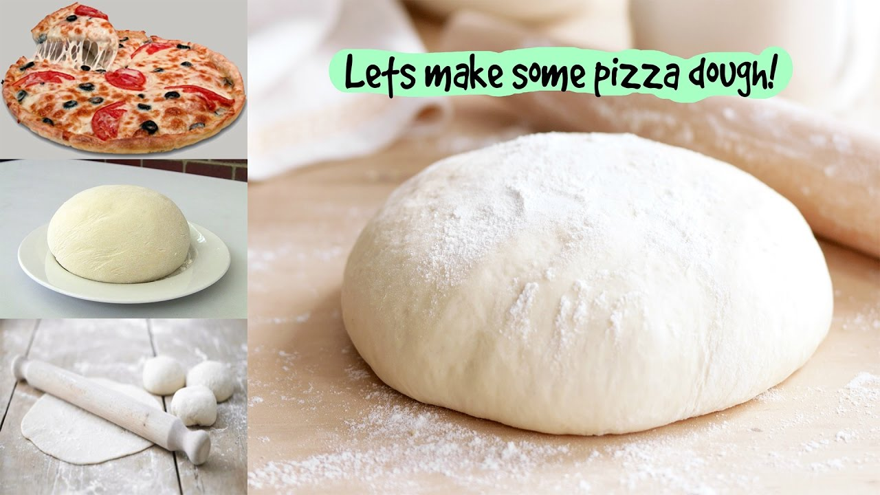 pizza dough recipe without yeast and milk pizza dough how to make
