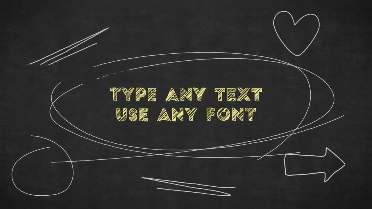 chalkboard writing after effects templates youtube. Black Bedroom Furniture Sets. Home Design Ideas