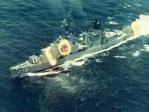 US Navy Destroyers off Vietnam