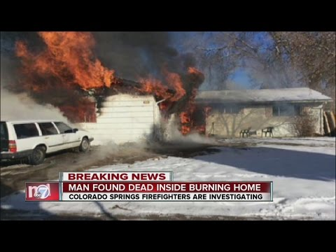 Man Found Dead After House Fire In Colorado Springs