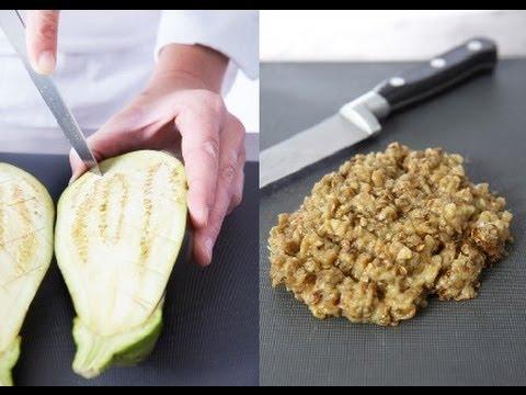 Technique De Cuisine Realiser Un Caviar D Aubergine Youtube